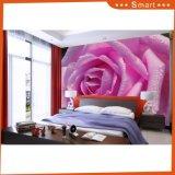 Purple Rose Big Oil Painting pour mur extérieur