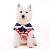 De Kleren van het Overhemd van het Huisdier van de Tank van de Hond van de Jongen van de Stijl van de zeeman
