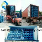 Surplus Gevormde Plastic Pallet met de Buis van het Staal voor Verkoop