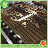Горячее продавая зеркало 304 вытравило лист нержавеющей стали для украшения лифта