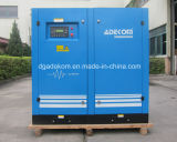 Compresor de aire del tornillo 4bar Lp de la industria del cemento VSD (KE132L-4 INV)