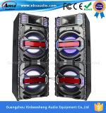Altavoz micro al aire libre del Active de DJ del profesional del USB SD FM LED Bluetooth del disco del Karaoke