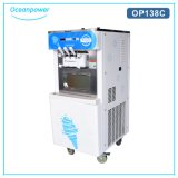 Máquina suave portable Op138c del helado del servicio