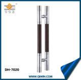 Acier inoxydable 304 et traction matérielle en bois de porte pour la porte en verre (DH-7020)