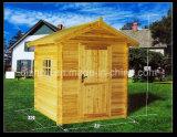 Chambre en bois extérieure