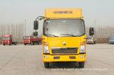 Caminhão pequeno do camião da condução à direita brandnew do veículo com rodas de HOWO 6 (116HP)