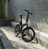 ブラシレスモーターを搭載するセリウムの20インチ10の第2折りたたみの電気バイク