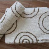 100%年の綿のホテルのジャカード浴室の敷物