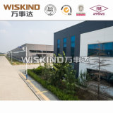Édifice de construction en acier commercial multi étages avec toiture