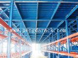 Plataforma de acero del entresuelo del almacenaje del almacén de la alta calidad