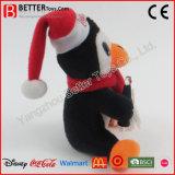 De in het groot Pinguïn van het Stuk speelgoed van Kerstmis Zachte