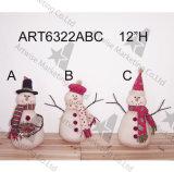 Подарок рождества владельца карточки северного оленя снеговика Санта, 3asst.