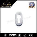 細長い楕円形のInoxのドアハンドルのロゼットの紋章