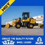 Loader 1.4ton 0.7m3 Capacité du godet Mini Loader petite roue Mini Wheel Loader Zl19