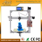Imprimante chaude I3 de l'appareil de bureau DIY 3D de bâti en métal de l'affichage à cristaux liquides A2 de vente avec le niveau automatique