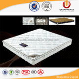 Colchón de resorte colorido modificado para requisitos particulares precio del poliester de la promoción (UL-K105)