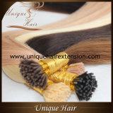 Capelli italiani della cheratina capovolgo le estensioni dei capelli