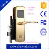 Fechamento de cobre puro inteligente da chave do hotel do smart card