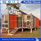 Casa Prefab européia 40FT expansível Foldable barata do recipiente da casa de 20FT para HOME