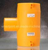 T PE100 da Eletro-Fusão para a linha da água ou de gás