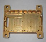 Pièce en laiton de haute précision par la commande numérique par ordinateur usinant pour des machines