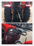 maquinaria 130HP agricultural grande/exploração agrícola/gramado/jardim/estojo compato/Constraction/trator Diesel da exploração agrícola/de cultivo
