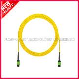 12 cavo di zona ottico multimoda della fibra delle fibre OS2 MPO-MPO
