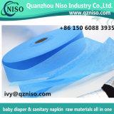 Nonwoven chaud de la vente ADL pour les matières premières de couche-culotte de bébé (LS-09)