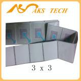 Kennsatz-Seriennummer-Aufkleber-Kennsatz HF-3X3
