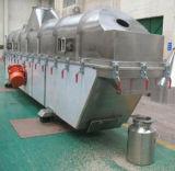 Máquina de secagem de vibração de base fluida da areia do silicone com zona do desimpedimento