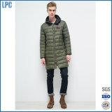 Куртка 2017 высокого качества зимы способа Ny длинняя для одежд людей