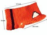 Le crochet chaud de gosses de l'hiver tricoté recouvre le chapeau de Beanies d'Earflap d'écharpe de Fox de capot de coiffe (HW602)