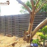 Aluminium-WPC Zaun-Panels der im Freien preiswerten Garten-Webart-für Verkauf