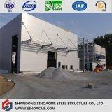 研修会または倉庫のための中国の低価格の製造のPebの鉄骨構造