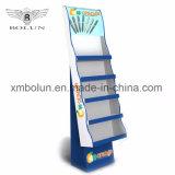 Стойка индикации шипучки пола Corrugated картона высокого качества