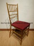 방석 공장 직매를 가진 Gloden 금속 결혼식 Chiavari 의자