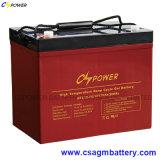 солнечная батарея геля 12V 75ah для системы -Решетки 1kw солнечной