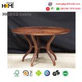 カシの家具のDinning木の表および椅子(HCD02)