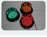 Nueva 100mm personalizada tráfico de luz de lámpara de señal