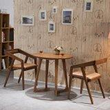 Hölzernes Möbel-Wohnzimmer-klassischer festes Holz-runder Speisetisch