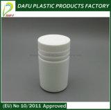 bottiglia di plastica della medicina di figura rotonda 120ml