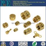 Kundenspezifischer Messing-Drehknopf Qualität CNC-Macining