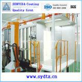 Linha de pintura eletrostática máquina de pulverização automática do revestimento do pó