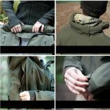 Mann-im Freienjagd-Jacke Hoodie kampierende wasserdichte Mäntel