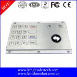 16 Tasten Metall-Tastatur mit Trackball