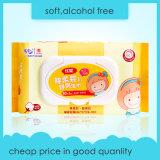 Безалкогольные Nonwoven Wipes младенца продуктов младенца ткани для чистки вручают фабрику ткани ртов