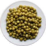 Guisantes verdes conservados alto deliciosos