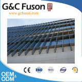 Pared de cortina de aluminio superior de la hoja de la dimensión de una variable irregular del diseño
