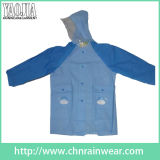 PVC Coating Waterproof Breathable Rain Wear per Children