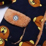 Capas calientes del muchacho de la ropa del invierno de los niños con Hoodies